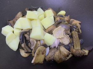 Abalone chicken practice step 12