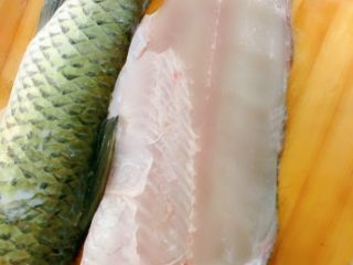 Pickled fish, this is the sliced fish