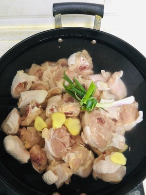 Large plate chicken practice step 1