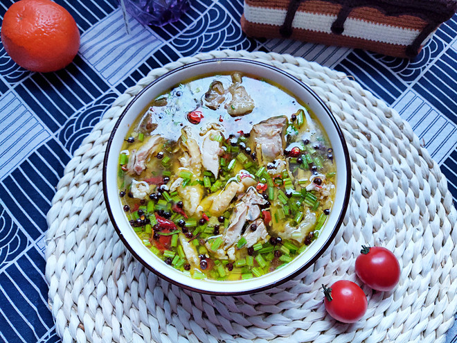 The practice of lazy rattan pepper chicken
