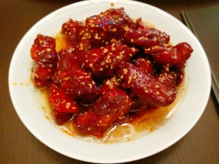 Sweet and Sour Pork Ribs, Finished Picture