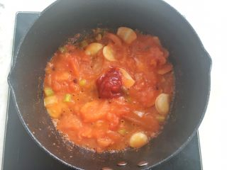 Beef in sour soup with tomato sauce