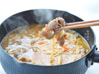 Sour Soup Beef, Finished Picture