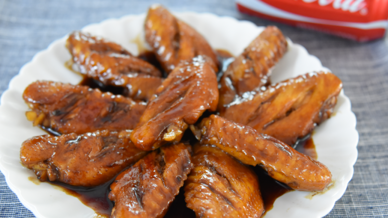 Coke chicken wings are really not as difficult as you think, come and learn!