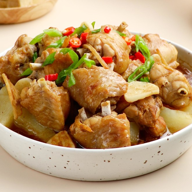 How to steam chicken wings with fermented bean curd