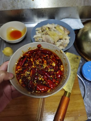 Step 5 of the saliva chicken that must be eaten in Chongqing